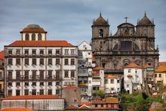 Sao Bento da Vitoria Monastery em Porto foto de stock royalty free
