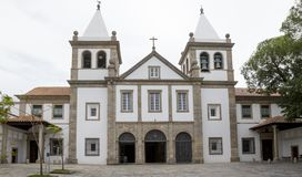 Sao Bento monasteru opactwo Nasz dama Montserrat w Rio fotografia royalty free