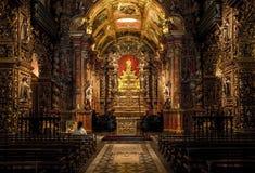 Sao Bento Monastery Abbey av vår dam av Montserrat i Rio de Janeiro de Royaltyfria Foton