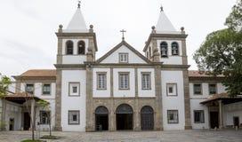 Sao Bento Monastery Abbey della nostra signora di Montserrat a Rio fotografia stock libera da diritti