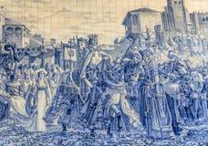 Sao Bento Mosaic Imagem de Stock Royalty Free