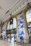Sao Bento Railway Station à Porto, Portugal Photographie stock libre de droits