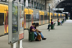 Sao Bento railway station, city Porto, Portugal Stock Image