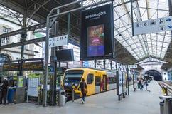 Sao Bento Railway Station em Porto, Portugal Imagens de Stock