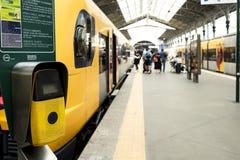 Sao Bento Railway Station in Porto, Portugal stock foto's