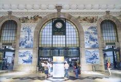 Sao bento railway station porto portugal Stock Photo