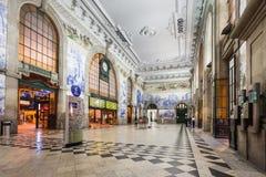 Sao Bento stacja kolejowa Zdjęcia Royalty Free