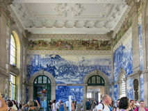 Sao Bento Station, Porto Royalty Free Stock Photo