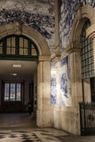 Sao Bento train station Royalty Free Stock Photos