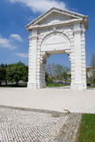 Sao Bento Triumphal Arch Lisbon Stock Photography