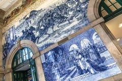 Sao Bento Wall Fotografie Stock Libere da Diritti