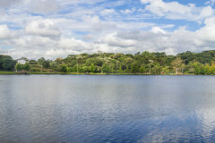 Sao Bernardo jezioro Obrazy Stock