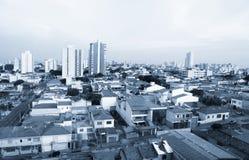 Sao Caetano robi sul miastu w Brazylia obraz royalty free