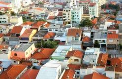 Sao Caetano robi sul miastu w Brazylia fotografia stock