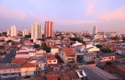 Sao Caetano sul stad in Brazilië stock fotografie