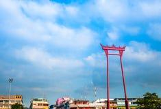 Sao Chingcha. Giant swing in Bangkok, Thailand Stock Photography