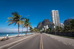 Sao Conrado okręg w Rio De Janeiro Zdjęcie Royalty Free