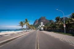 Sao Conrado okręg w Rio De Janeiro Obrazy Royalty Free