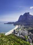 Sao Conrado in Rio de Janeiro-Bereich Stockbild