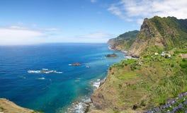 Sao Cristovao, Madeira north coast Royalty Free Stock Photo
