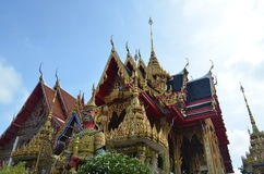 Sao del nang di Wat, tempio in Tailandia Immagini Stock