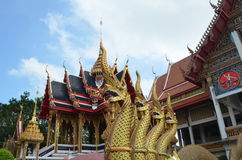 Sao del nang di Wat, tempio in Tailandia Fotografie Stock