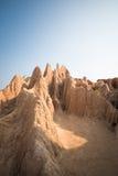 Sao Din Na Noi. Nan province, Thailand. Textures Canyon of Sao Din Na Noi. Nan province, Thailand Stock Images
