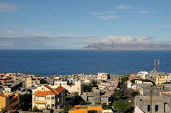 Sao Filipe - eine Stadt durch das Meer Lizenzfreie Stockfotografie