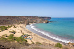 Sao Francisco beach in Santiago in Cape Verde - Cabo Verde Stock Image