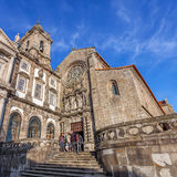 Sao Francisco Church de 14de eeuw Gotische architectuur stock foto