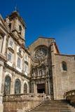 Sao Francisco Church Facade Stock Images