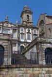 Sao Francisco Church. 14th century Gothic architecture. Neoclassical architecture. Unesco World Heritage Site Stock Photography