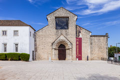 Sao Francisco Convent in the city of Santarem, Portugal. Royalty Free Stock Photo