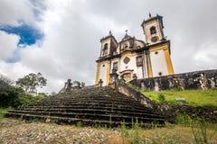 Sao Francisco De Paula Church ,ouro preto in brazil Royalty Free Stock Photos