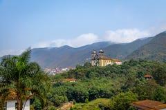 Sao Francisco de Paula Church - Ouro Preto, Minas Gerais, Brésil Photographie stock