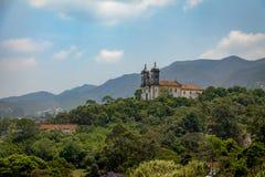 Sao Francisco de Paula Church - Ouro Preto, Minas Gerais, Brésil Photos libres de droits