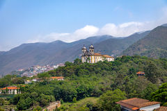 Sao Francisco de Paula Church - Ouro Preto, Minas Gerais, Brasil Foto de Stock