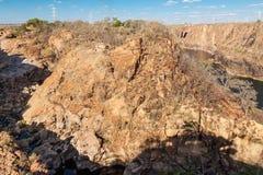 The São Francisco River dried up Stock Photo