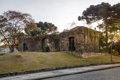 Sao Francisco Ruins - Curitiba, Parana, Brazilië Royalty-vrije Stock Afbeelding