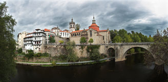 Sao Goncalo Monastery - Amarante Stock Photography
