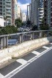 Sao joao Avenue stock photography