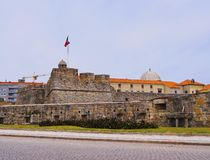 Sao Joao Baptista Fortress in Porto Royalty Free Stock Photography