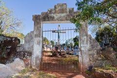 Sao Joao Baptista Ruins Cemetery Stock Photos
