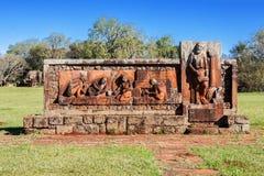 Sao Joao Baptista Ruins Stock Images