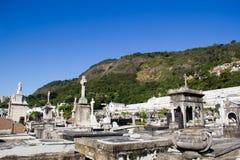 Sao Joao Batista cemetery Stock Image
