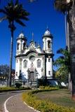 Sao joao del rey church minas gerais  brazil Stock Image