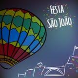 Sao Joao-Partei stockfoto