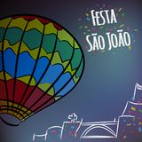 Sao Joao party stock photo