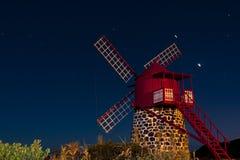 Sao Joao Windmill Stock Image