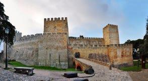 Sao Jorge Castle Fotografía de archivo